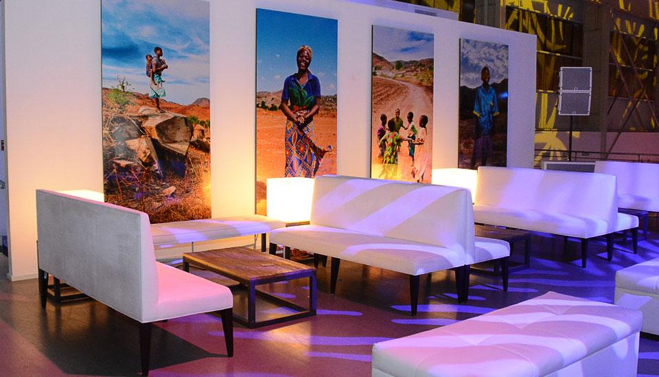 charity water lounge