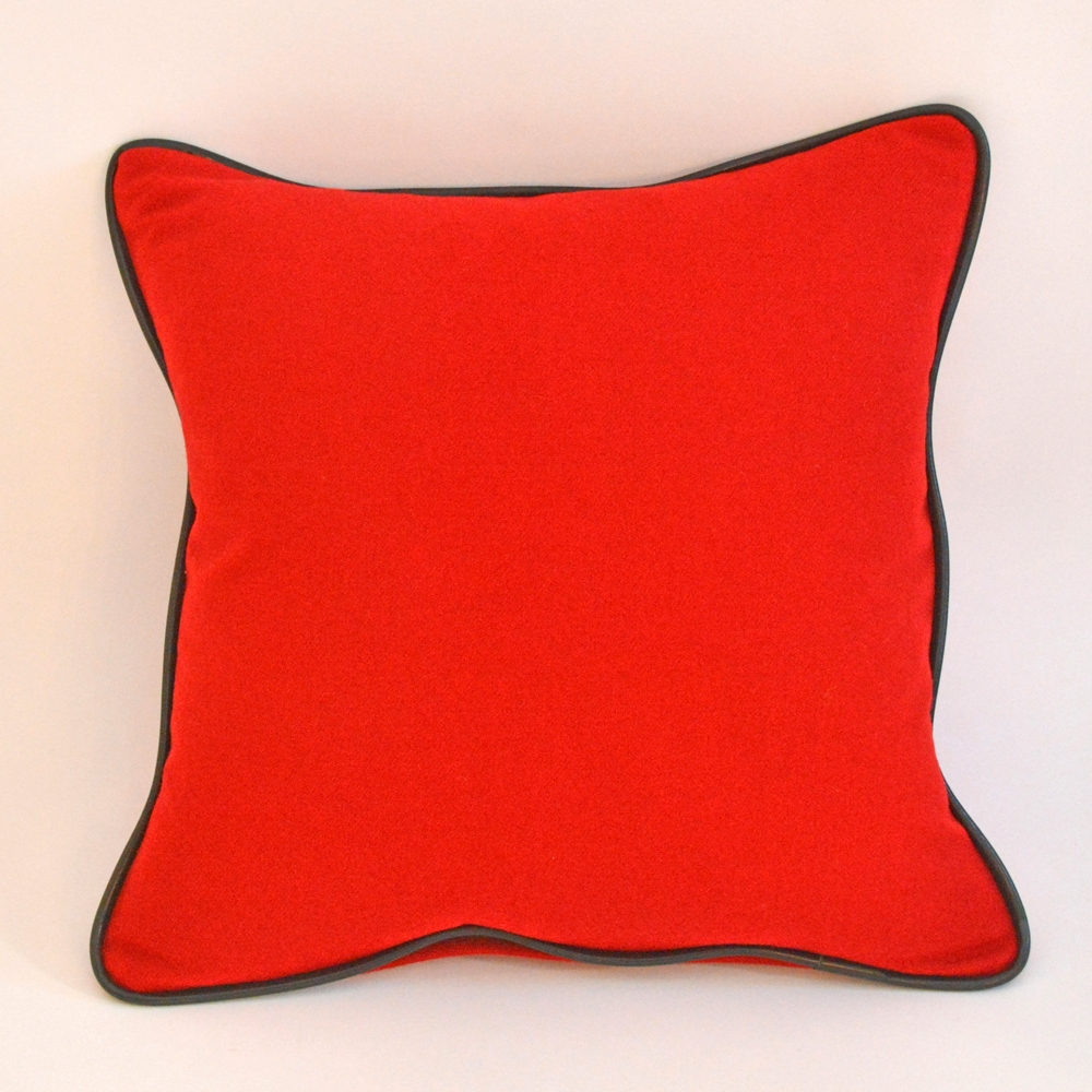 racer red pillow