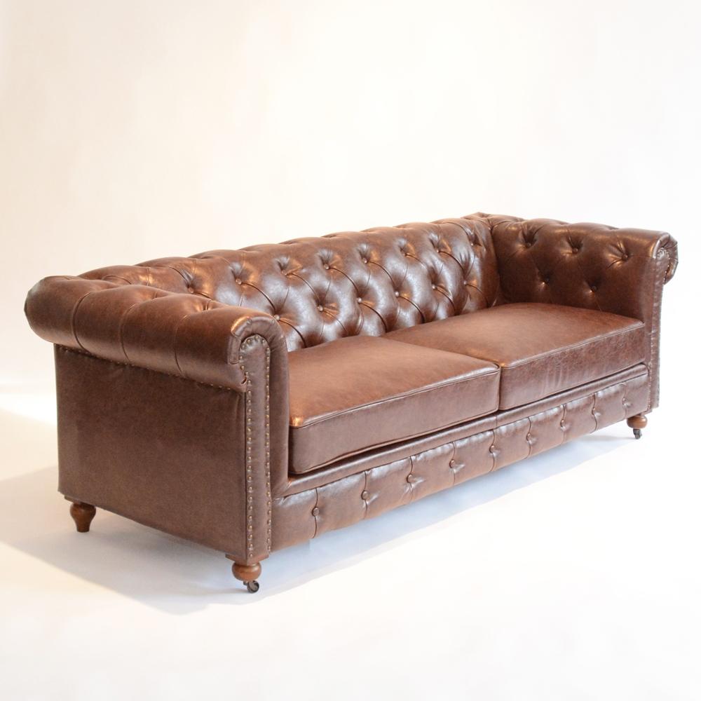 Gordon Tufted Sofa Gordon 82 Quot Tufted Sofa Taupe Modern Sofas By One