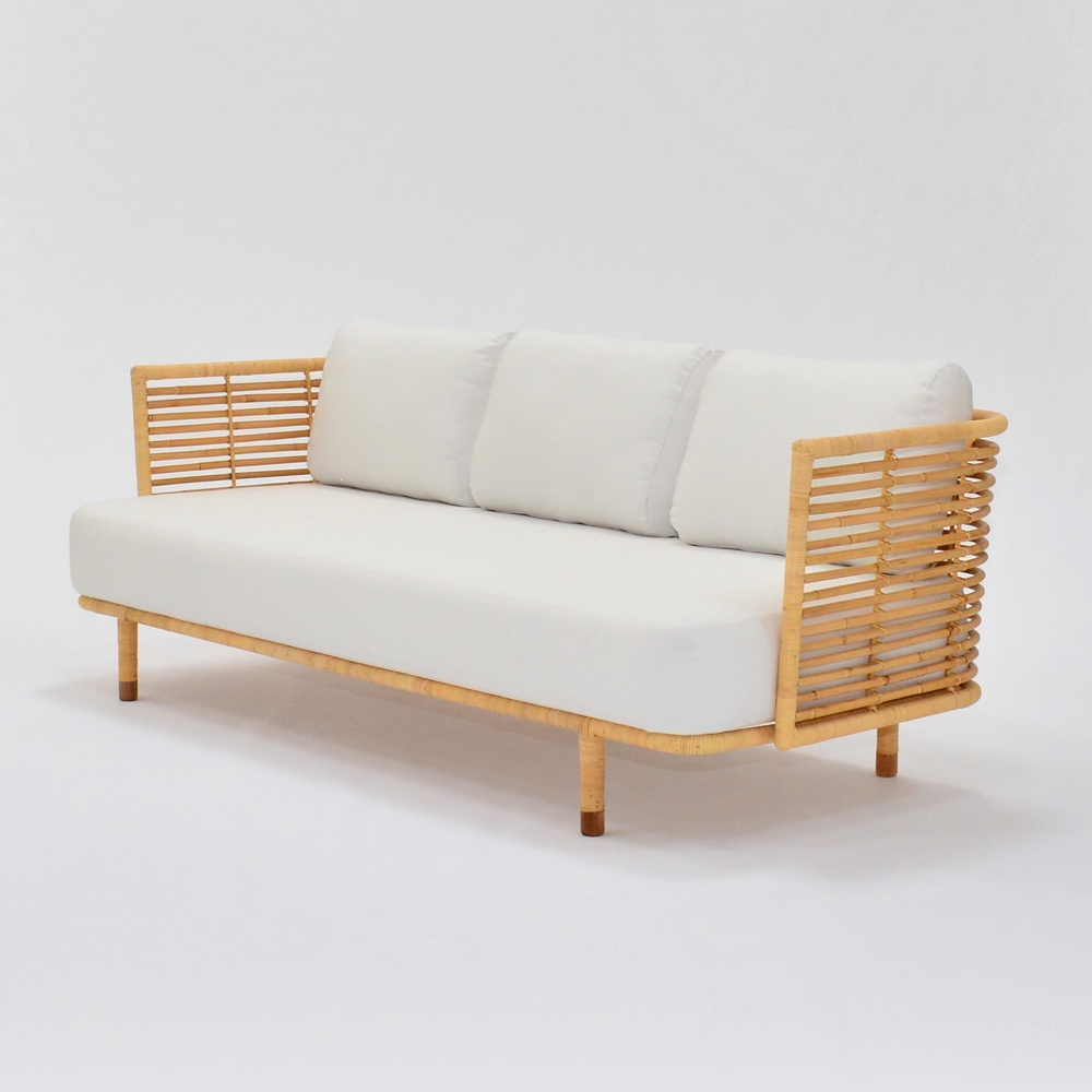 cane sofa | Furniture Rentals for Special Events - Taylor Creative Inc.