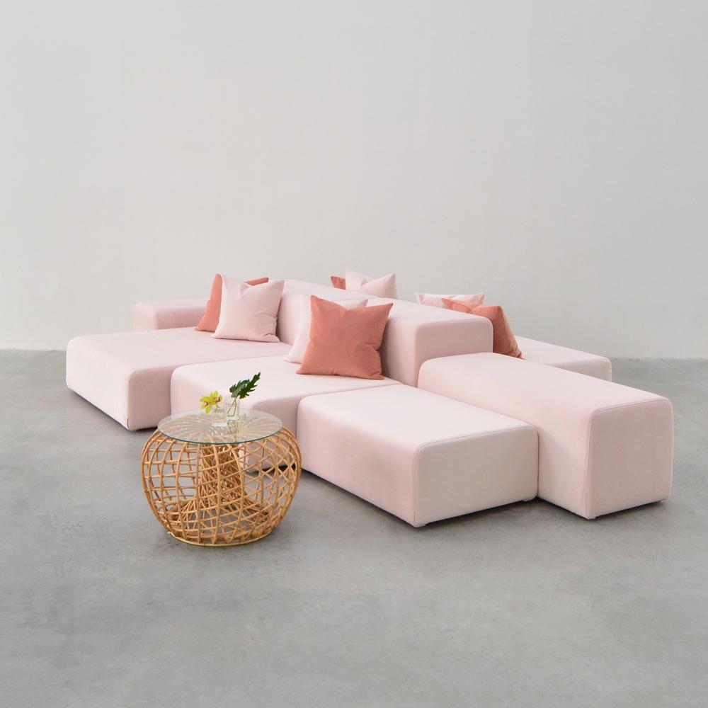 creative images furniture. Lounge Modular Pink Creative Images Furniture