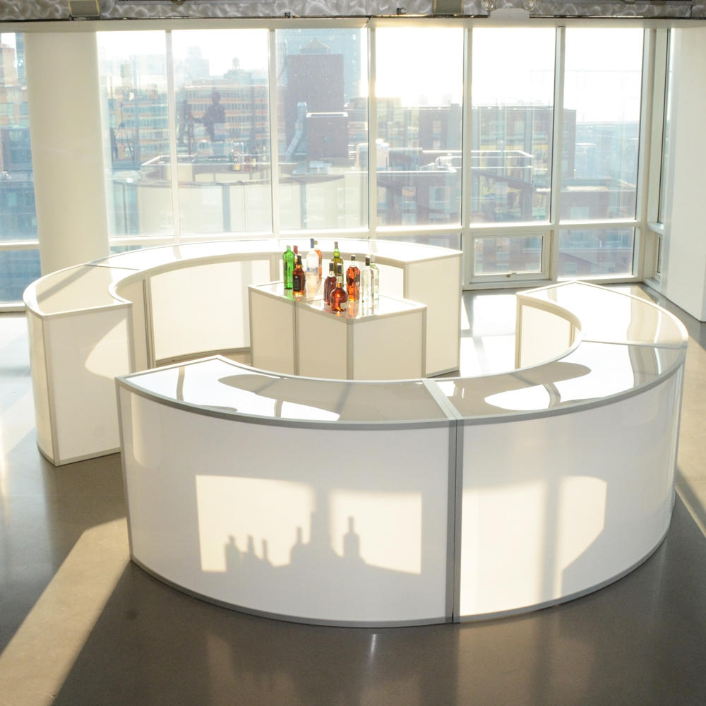 Tate Bar Curve Open Furniture Rentals For Special Events