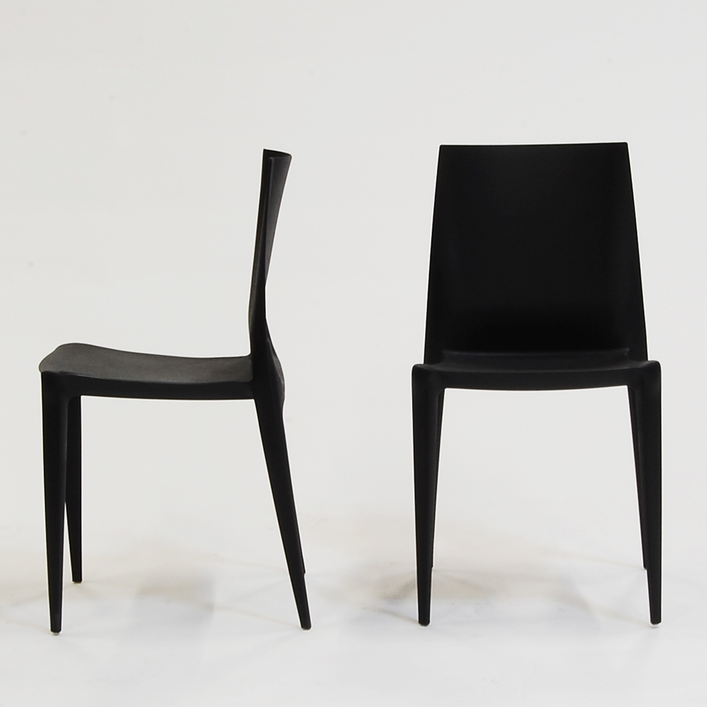 Black and white chair photography - Bellini Chair Black Matte