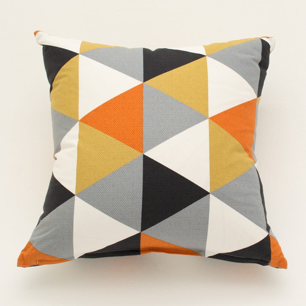 multi-hue pillow