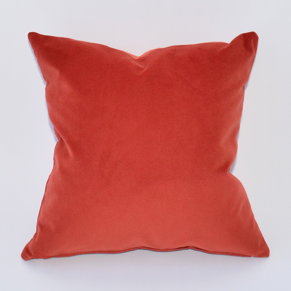 cayenne velvet pillow