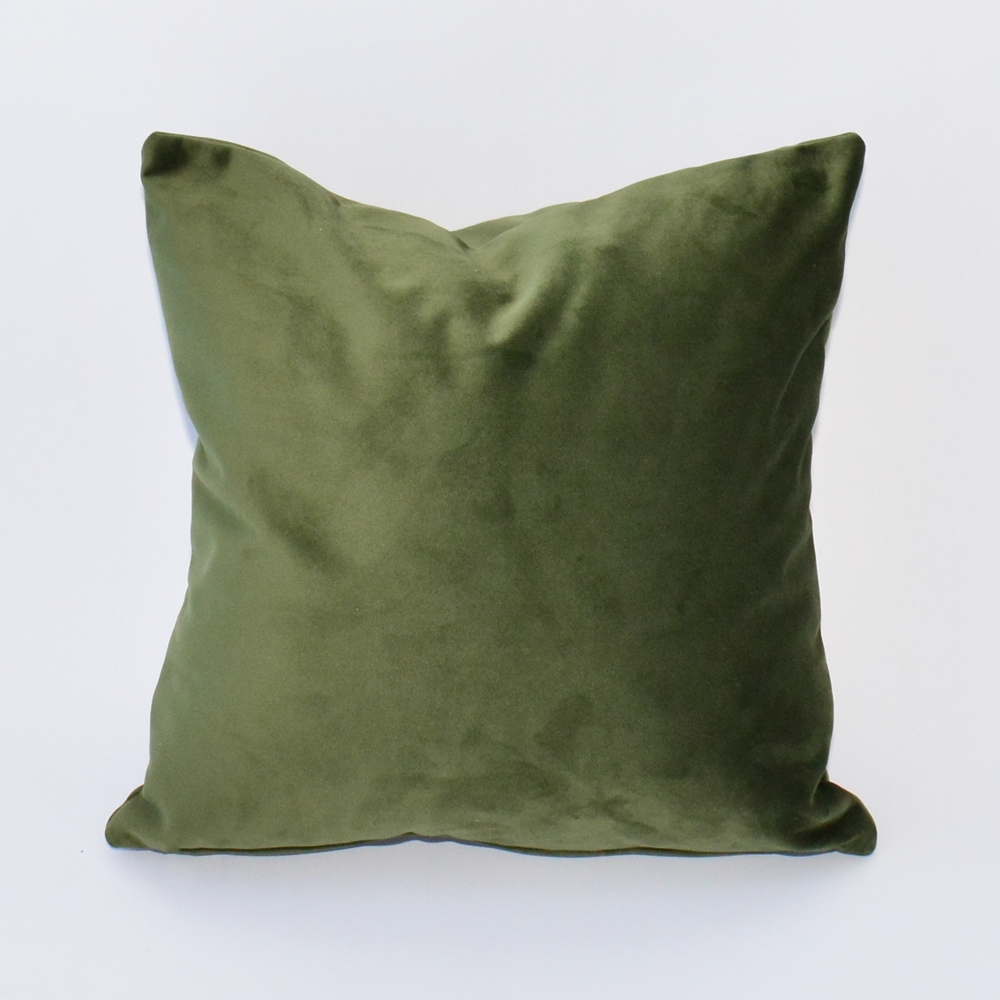 loden velvet pillow
