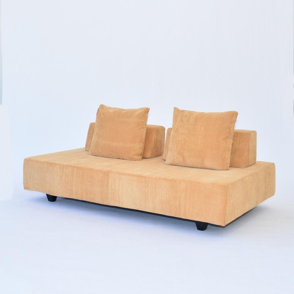 island sofa corduroy