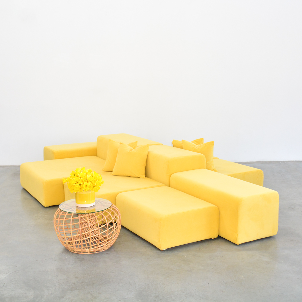 lounge modular lemon