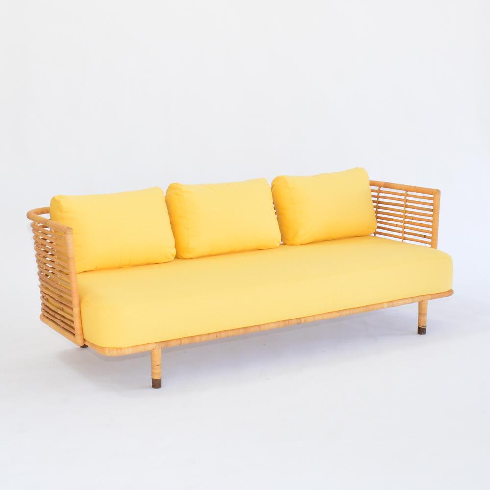 cane sofa sunshine