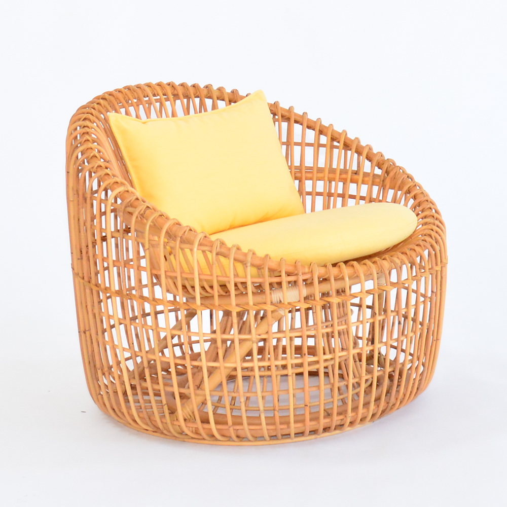 cane chair sunshine