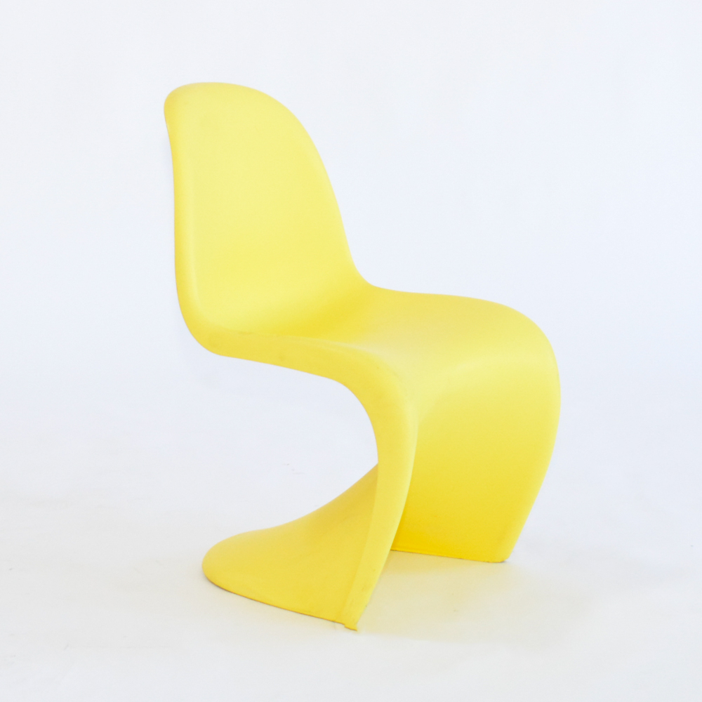 panton chair yellow
