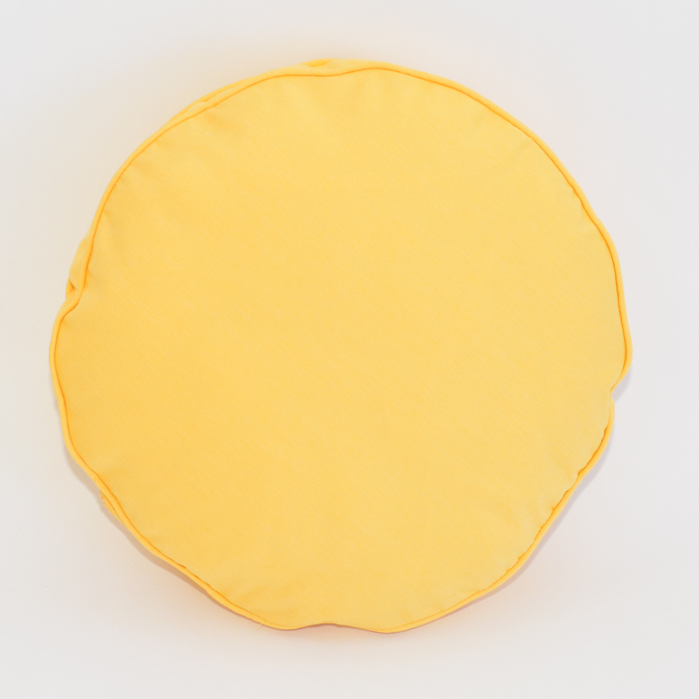 sunshine round pillow
