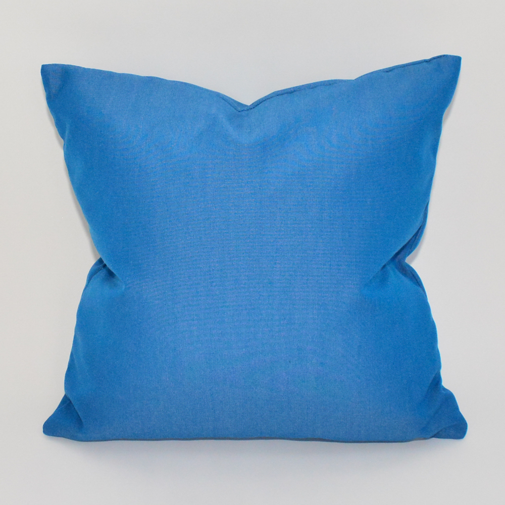 caribbean blue pillow
