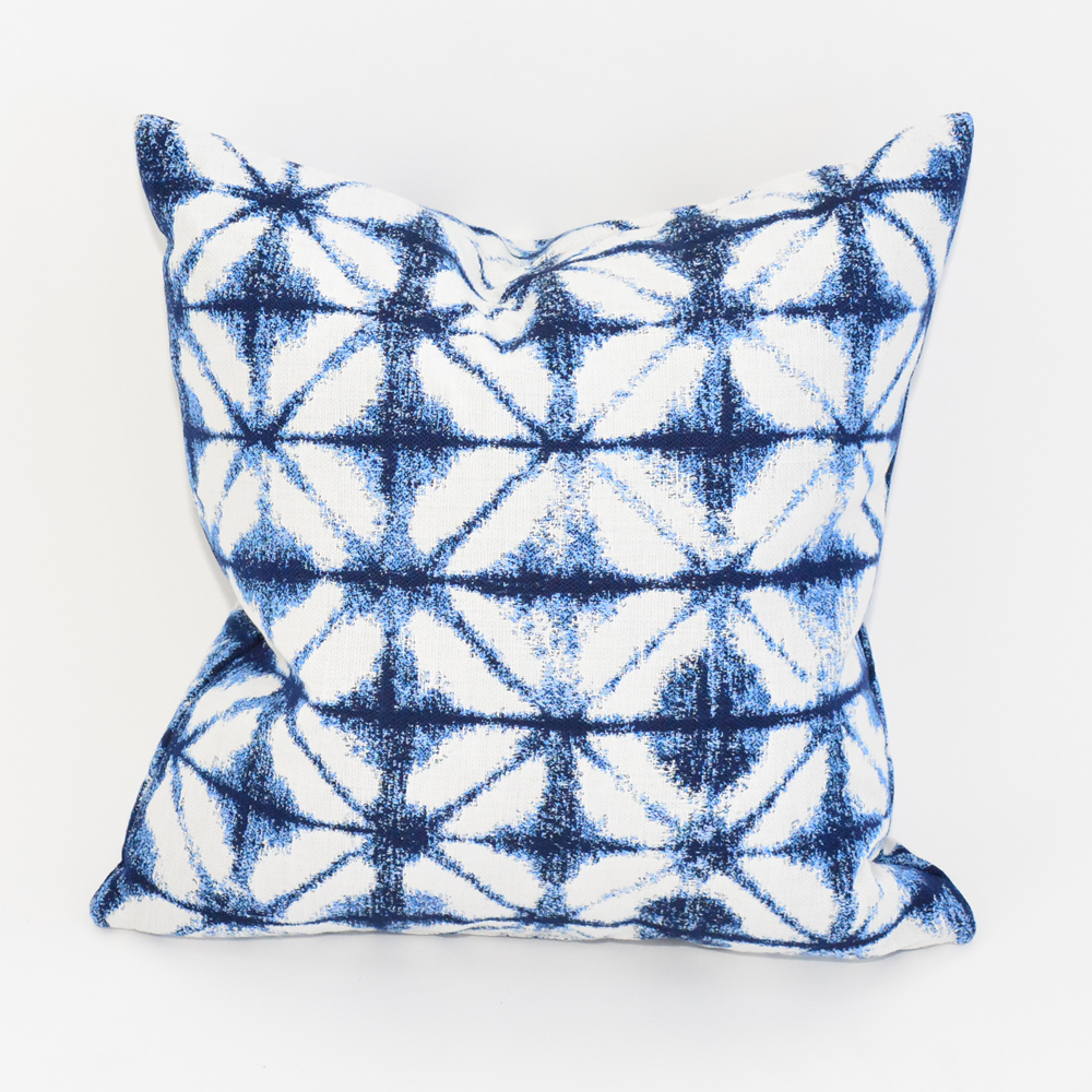 tattoo blue pillow