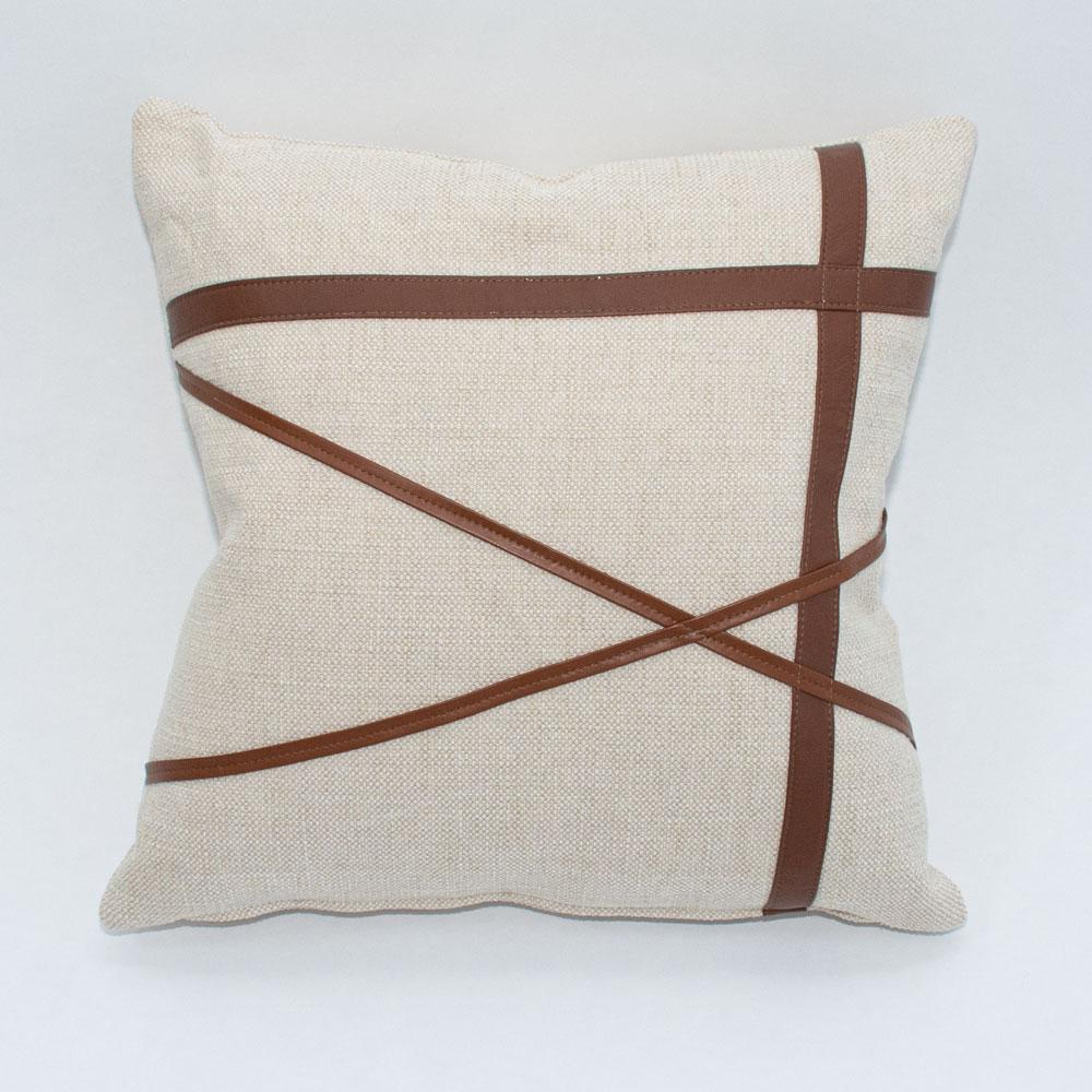 ponti leather pillow