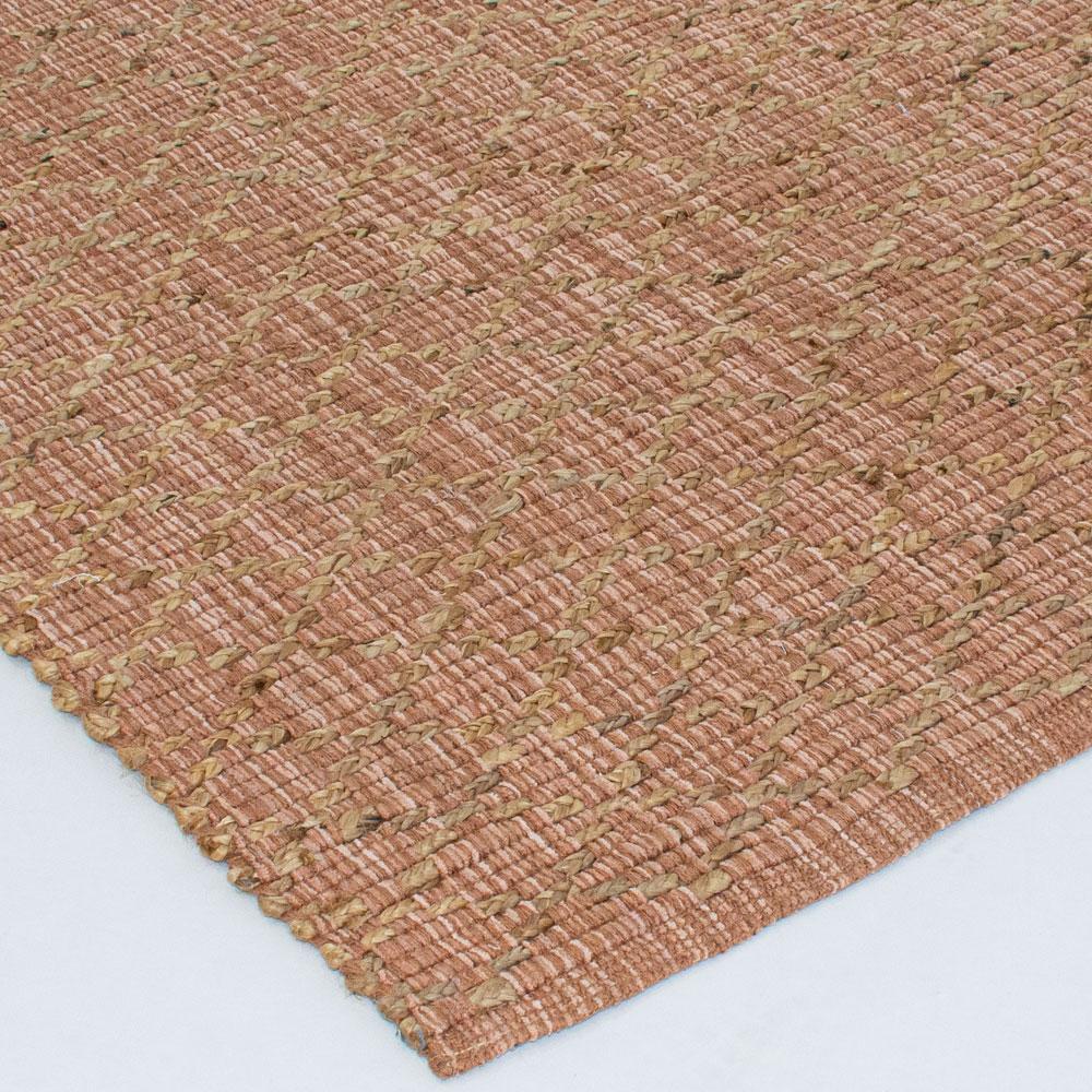 umber area rug