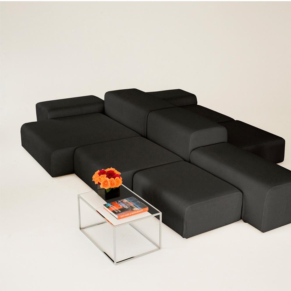 lounge modular black