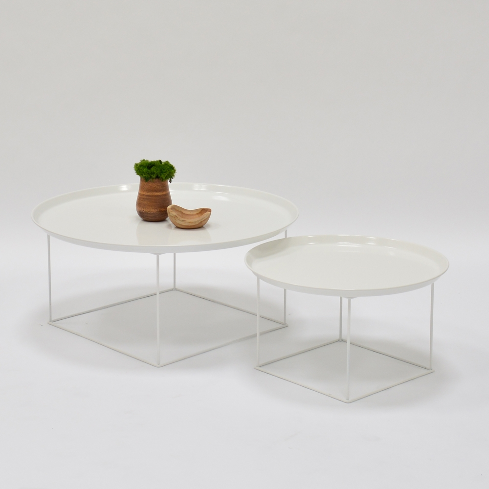 plateau coffee table white