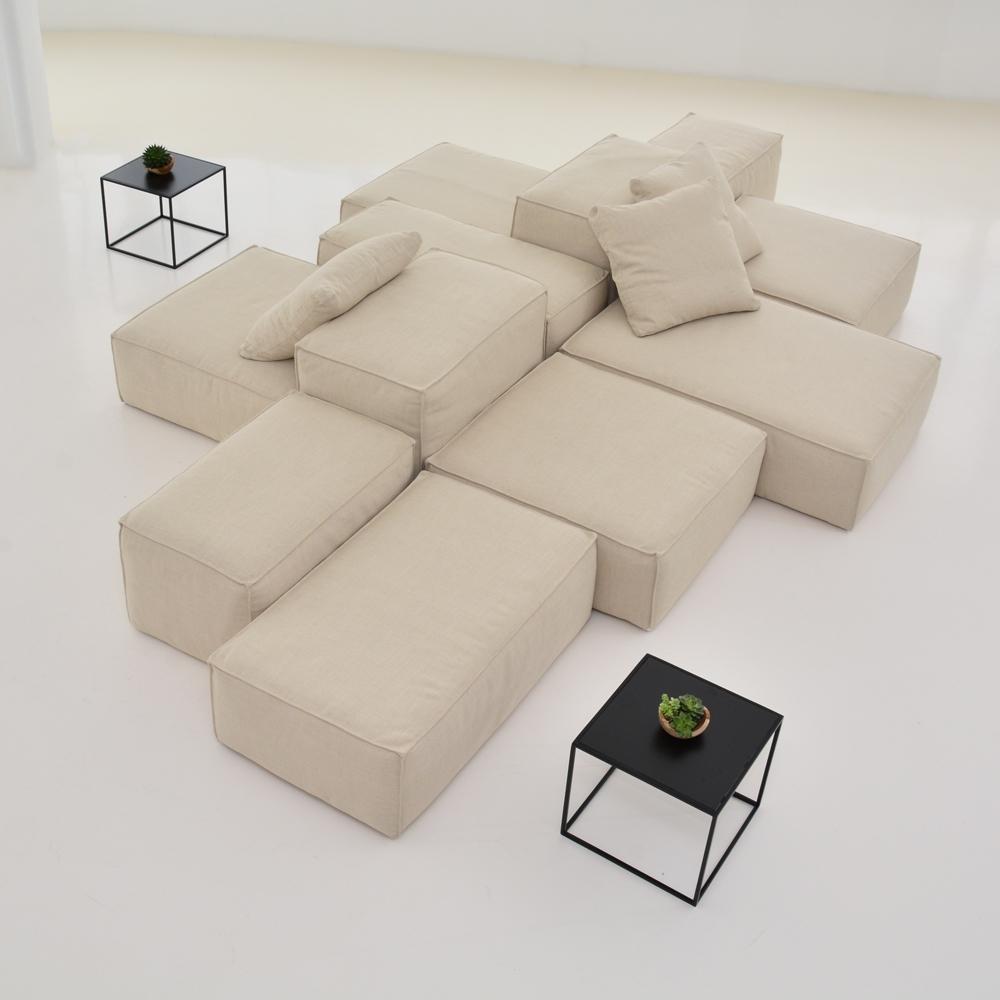 lounge modular natural