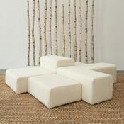 lounge modular faux sheepskin