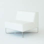 balance chair white