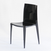 bellini chair black glossy