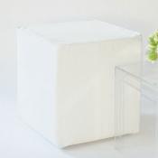 oscar cube  white