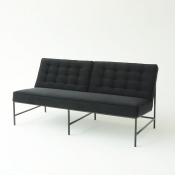 aston sofa black