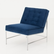 aston chair blue