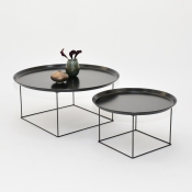plateau coffee table black