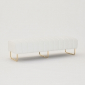 savile bench white