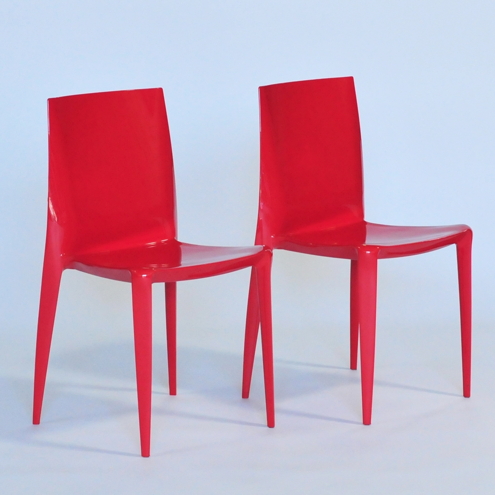 Additional image for bellini chair red glossy