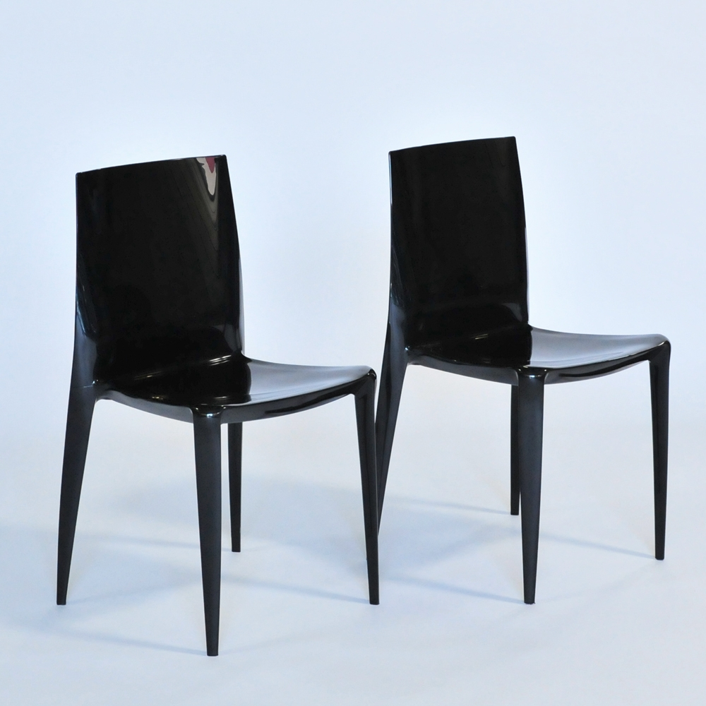 Additional image for bellini chair black glossy