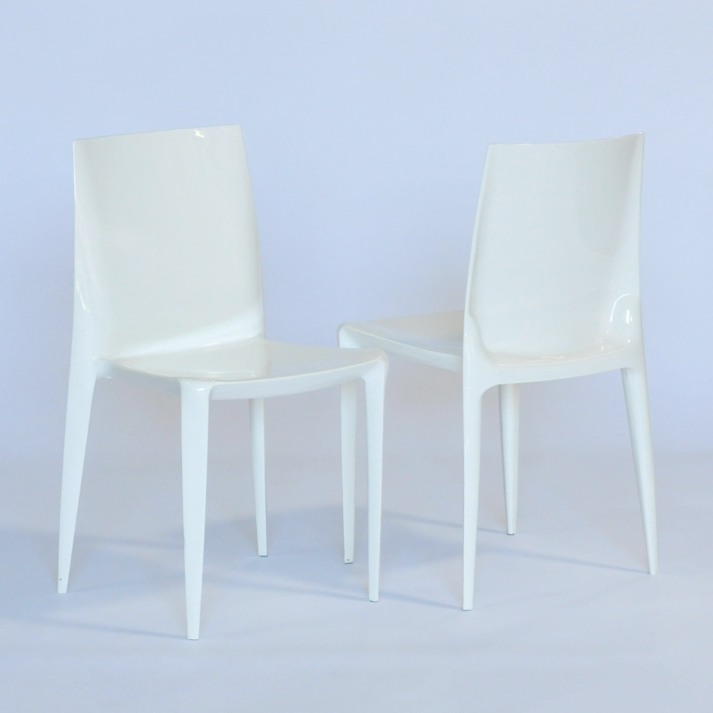Additional image for bellini chair off-white glossy