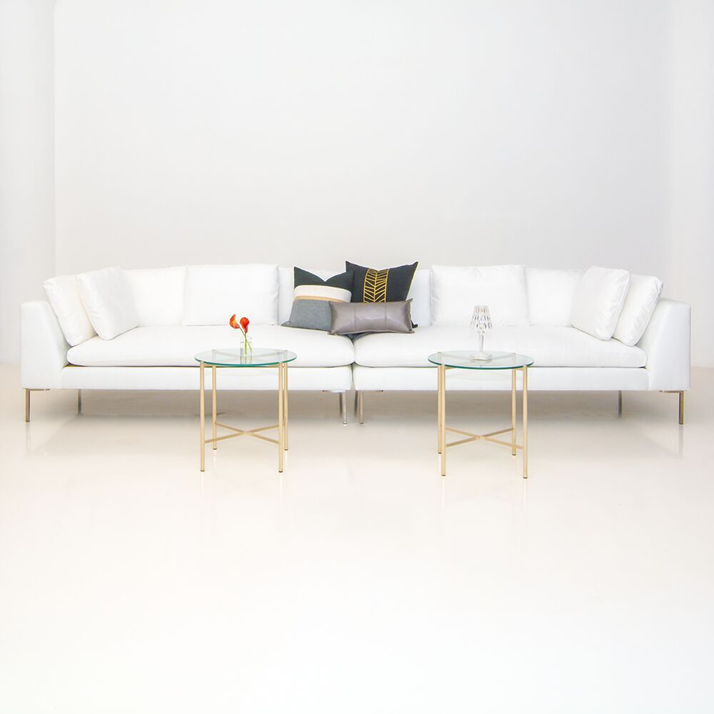 Additional image for hudson loveseat white