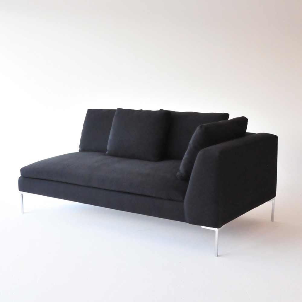 Additional image for hudson loveseat black