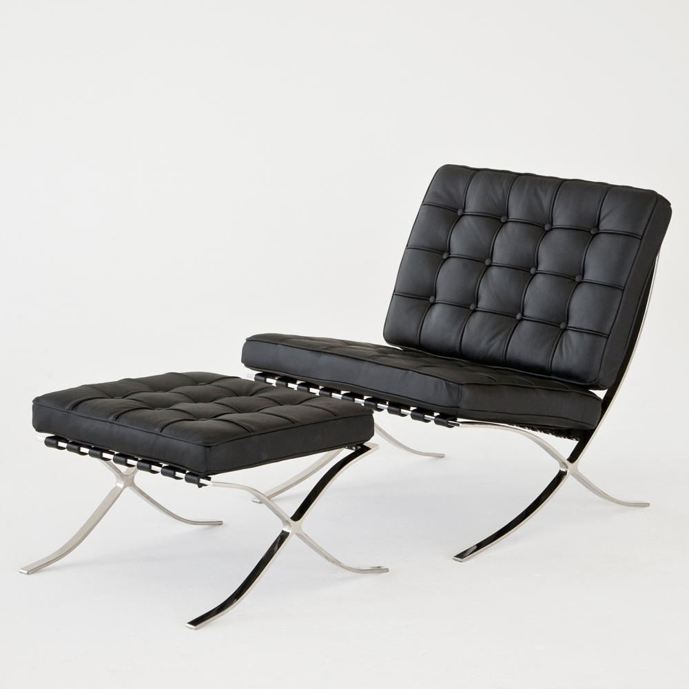 Additional image for barcelona chair black