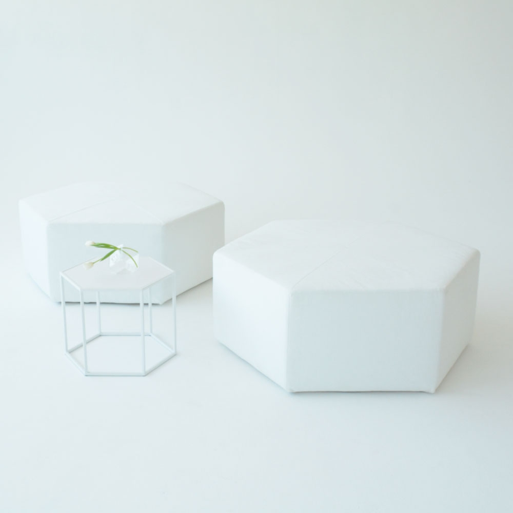 Additional image for hex side table
