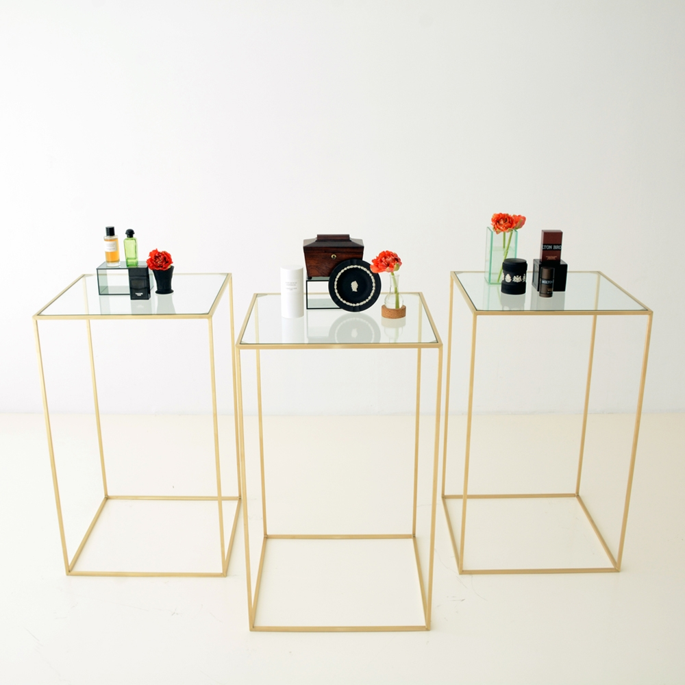 Additional image for maxwell square highboy clear glass