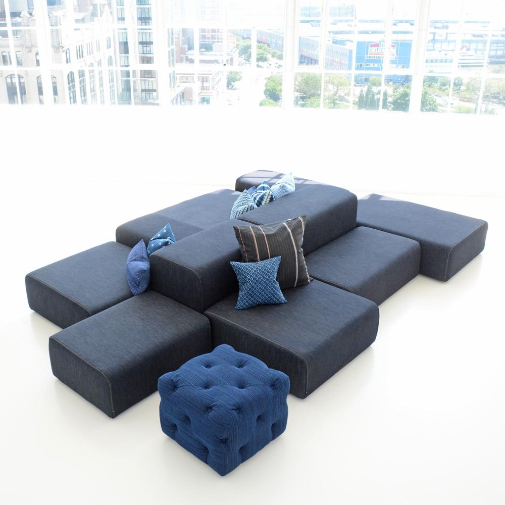 Additional image for lounge modular denim