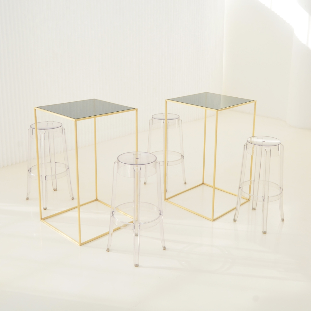 Additional image for maxwell square highboy smoke glass