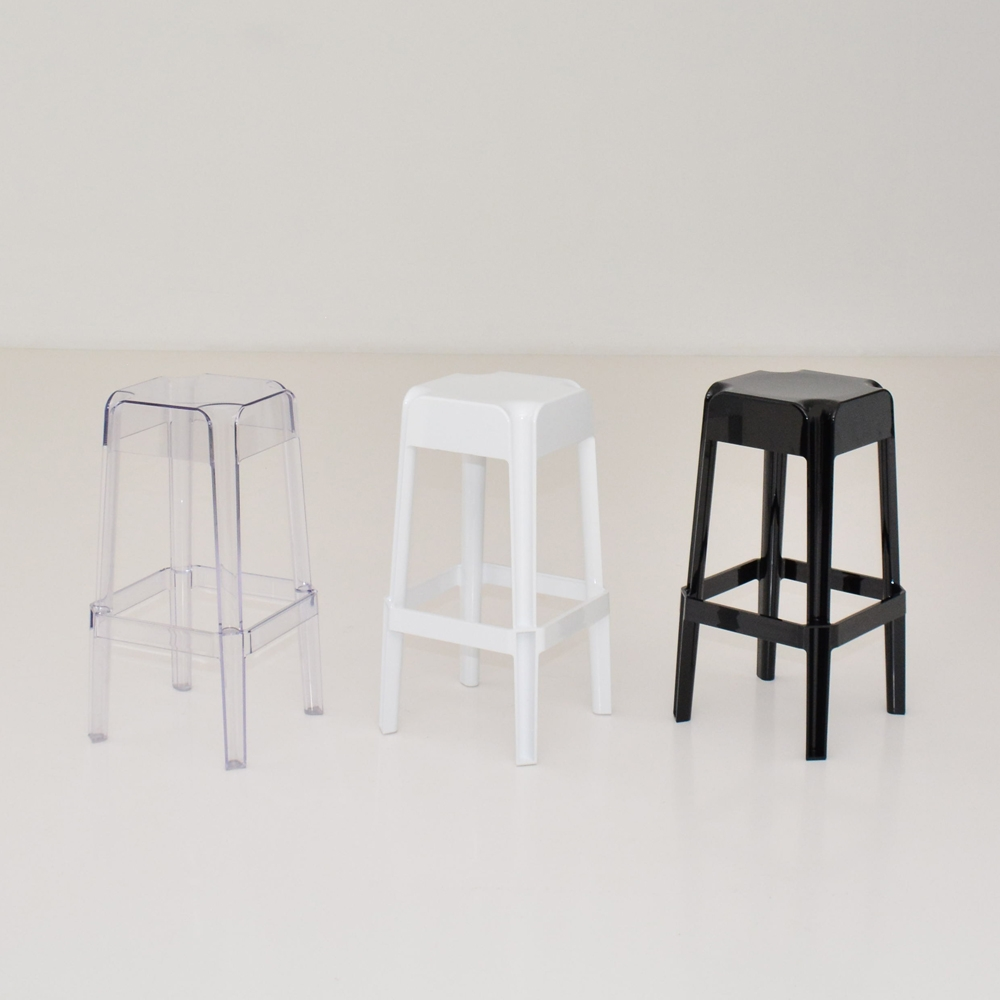 Additional image for hopper barstool clear