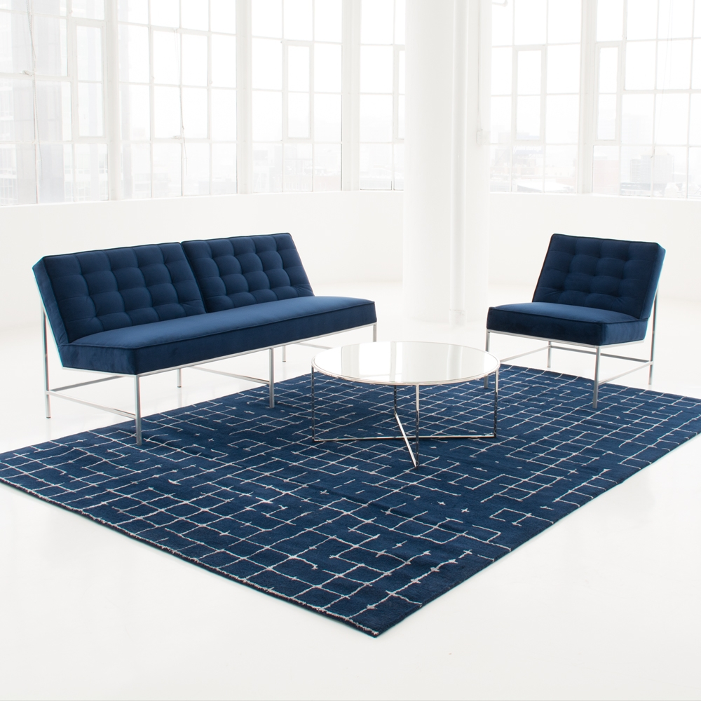 Additional image for aston chair blue