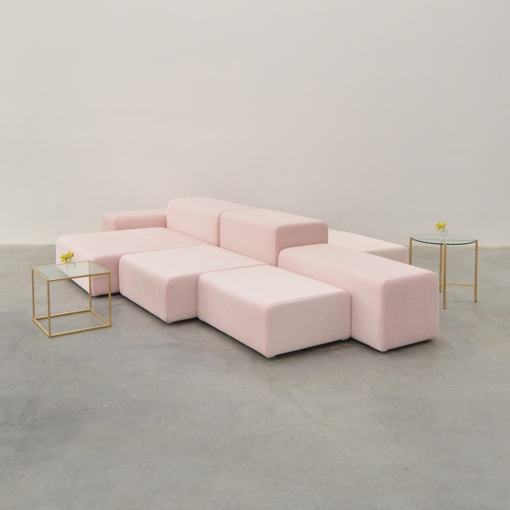 Additional image for lounge modular pink