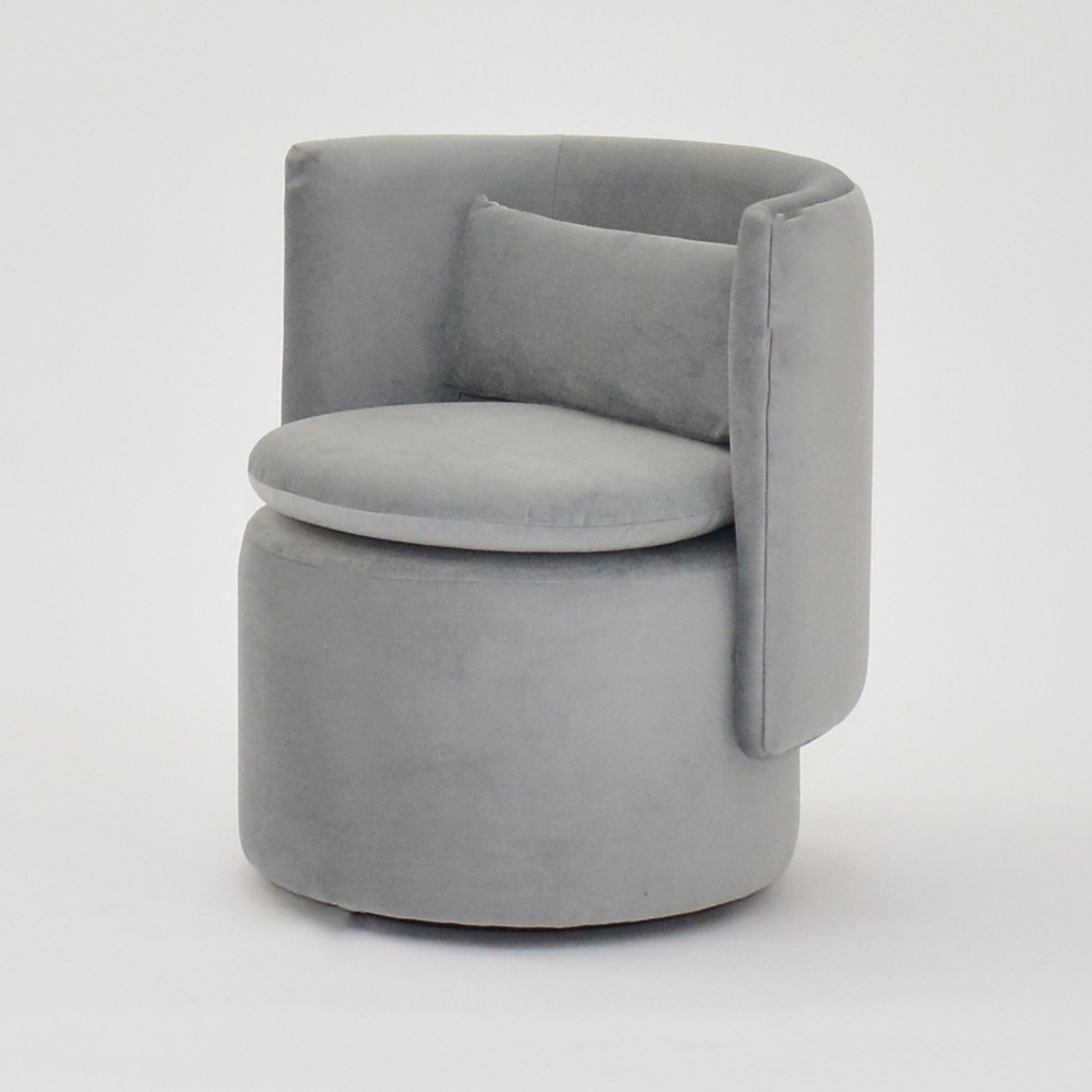 Additional image for swivel chair gray