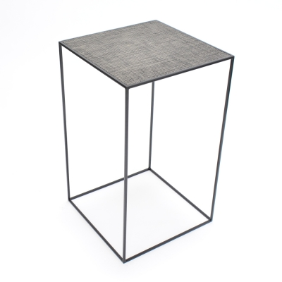 Additional image for edge highboy black - chilewich carbon