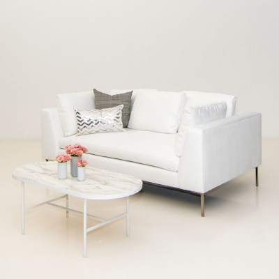 Additional image for hudson sofa white