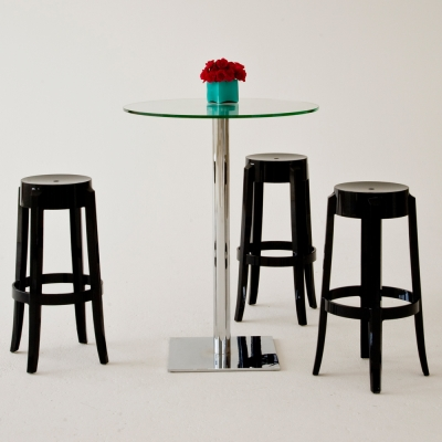 Additional image for charles ghost barstool black
