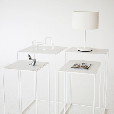 Additional image for edge pedestals white on white