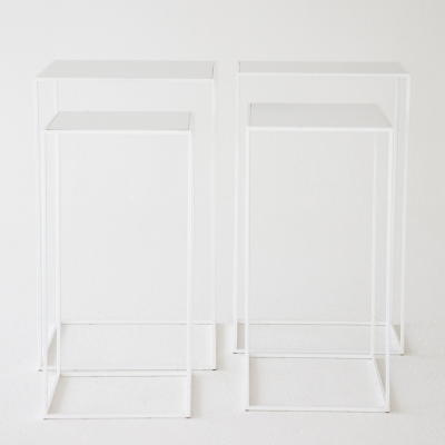Additional image for edge highboy white on white